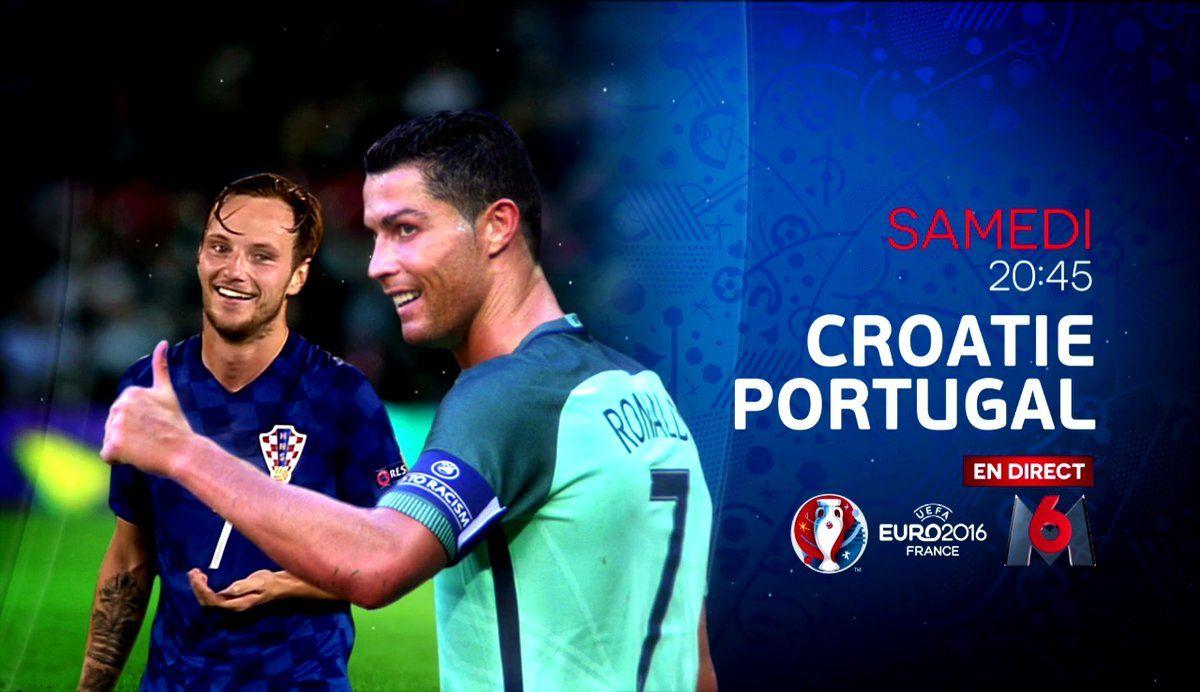 Croatie - Portugal largement en tête des audiences samedi.