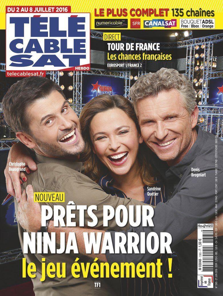 La Une des hebdos TV ce lundi : Fort Boyard, Ninja Warrior, Jenifer...