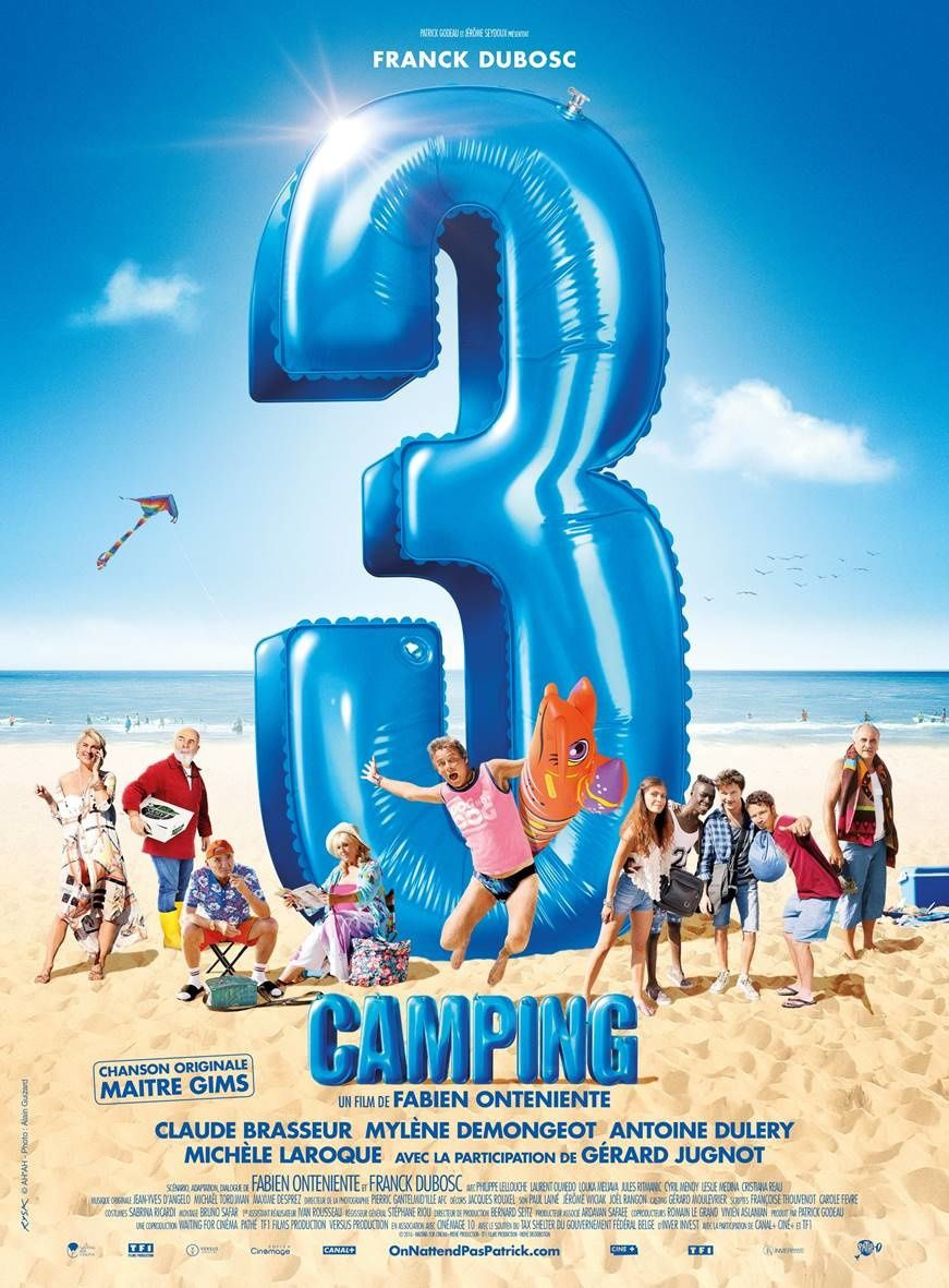Box-office France : 1.4 million pour Camping 3, Conjuring 2 surprend.