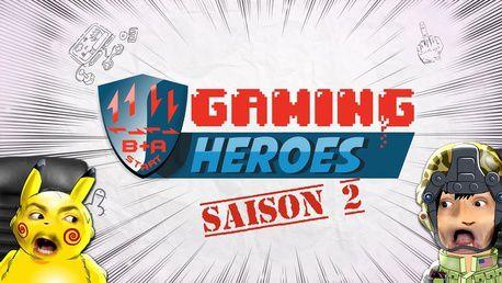 La websérie d'animation Gaming Heroes est de retour avec une saison 2.