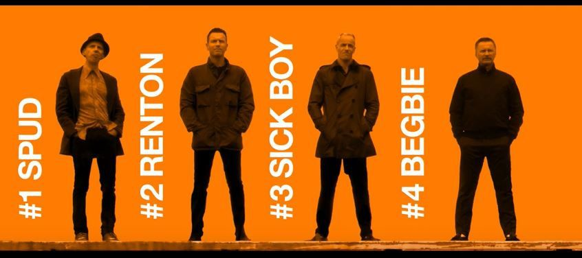 Premier teaser du film Trainspotting 2.