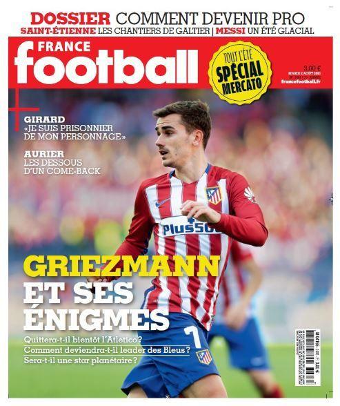 Mardi dans France Football, les six défis de Griezmann pour grandir.