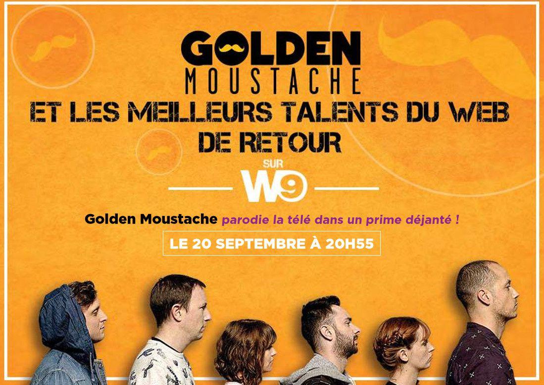 Golden Moustache spécial parodies 2, ce 20 septembre sur W9.