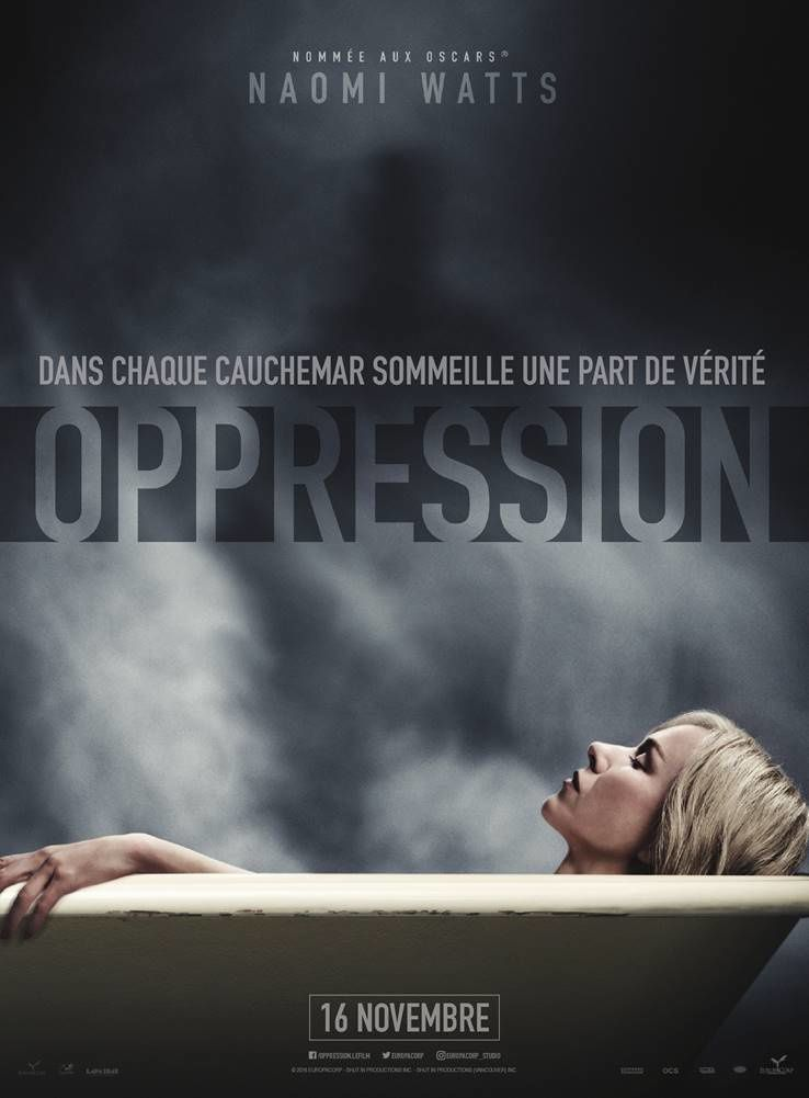 Bande-annonce efficace du film Oppression, avec Naomi Watts.