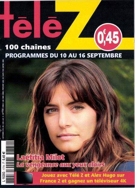 La Une des hebdos TV ce lundi : Nagui, Léa Salamé, Laëtitia Milot...