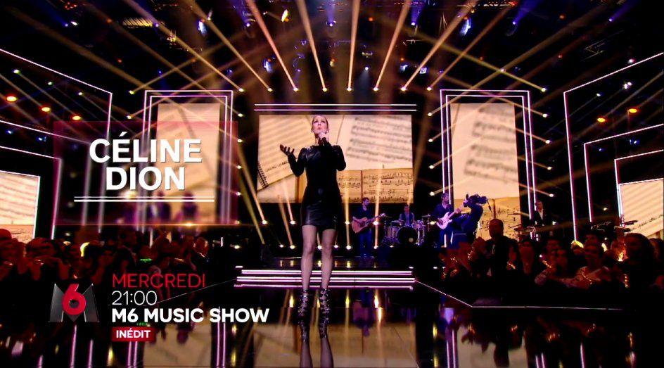 M6 Music Show ce 7 septembre avec Céline Dion, Jenifer, Claudio Capeo...