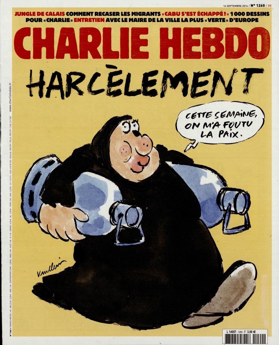 La Une de Charlie Hebdo ce mercredi, par Vuillemin.