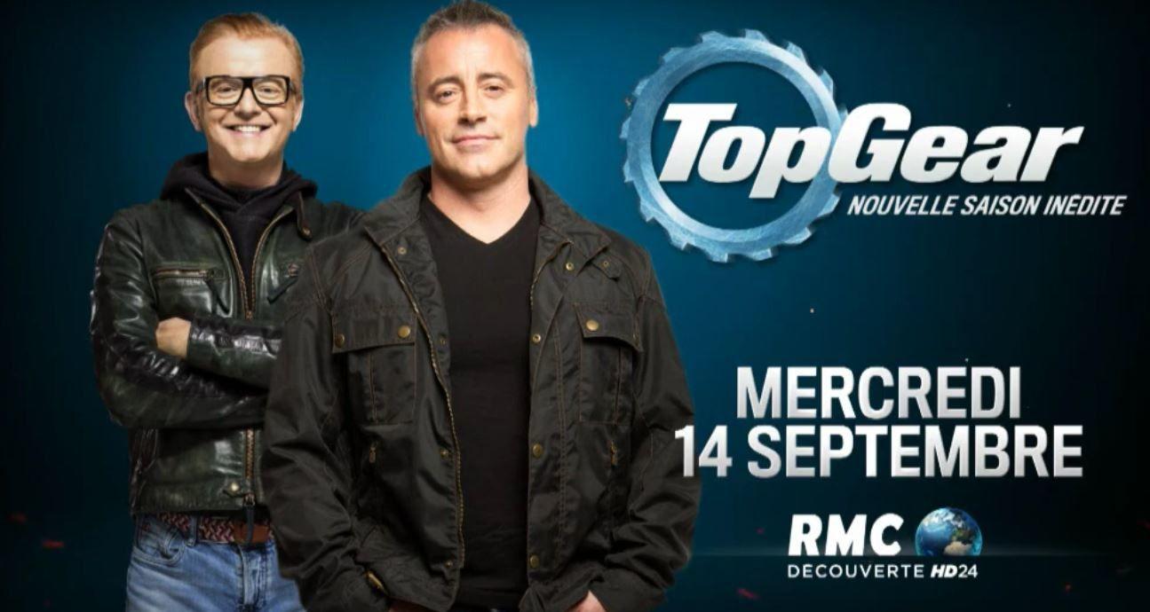 La nouvelle saison de Top Gear UK, avec Matt LeBlanc, débute ce soir sur RMC Découverte.
