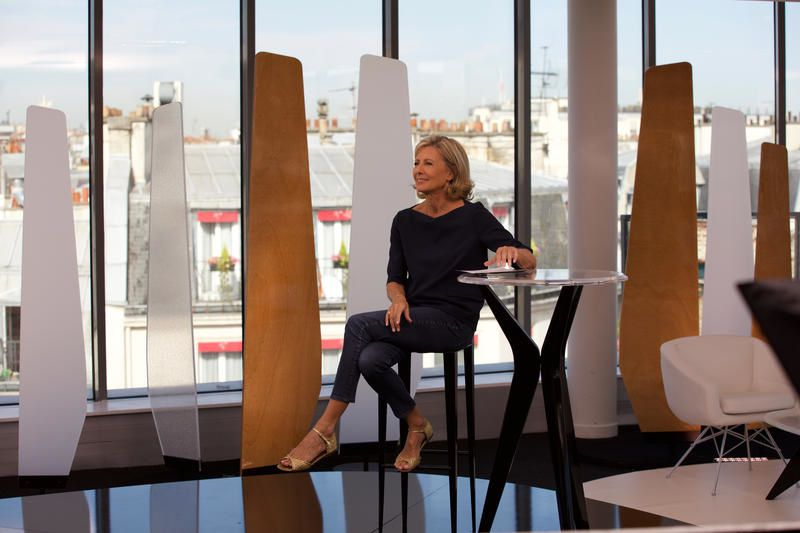 Claire Chazal reçoit Laurent Ruquier dans &quot&#x3B;Entrée libre&quot&#x3B; ce lundi.