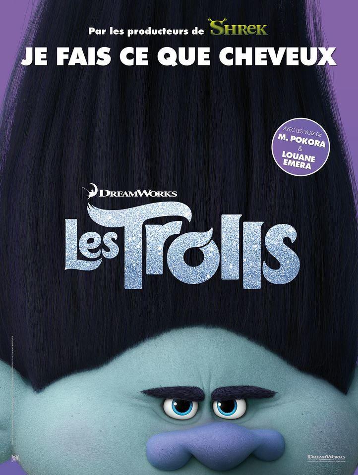 Découvrez 5 affiches du film d'animation Les Trolls.