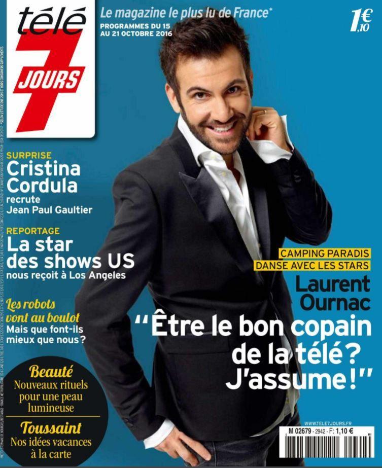 La Une des hebdos TV ce lundi : Laurent Ournac, Rayane Bensetti, Philippe Bas...
