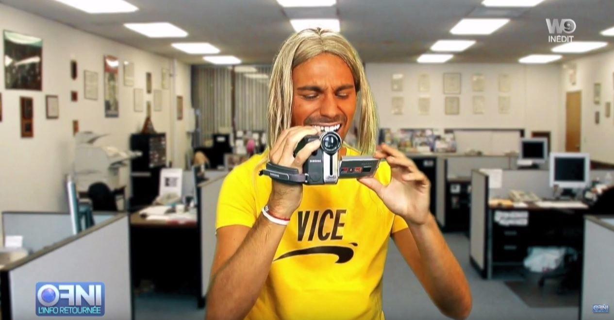 Bertrand Chameroy vous présente le cast de &quot&#x3B;Vice de Nice&quot&#x3B; (Vidéo OFNI).