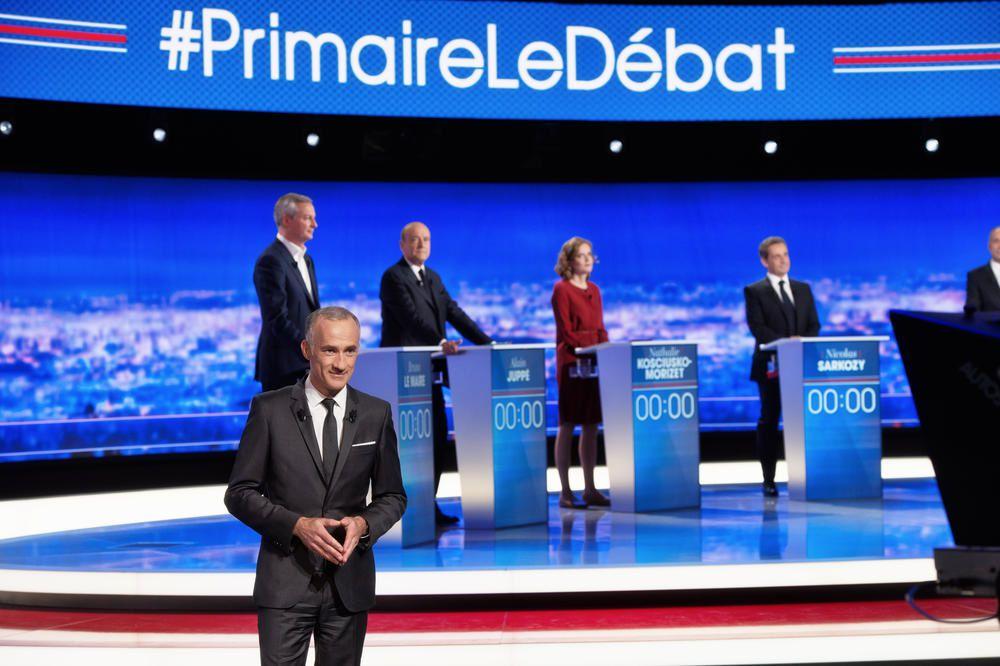 Succès d'audience pour le débat de la primaire de droite sur TF1.