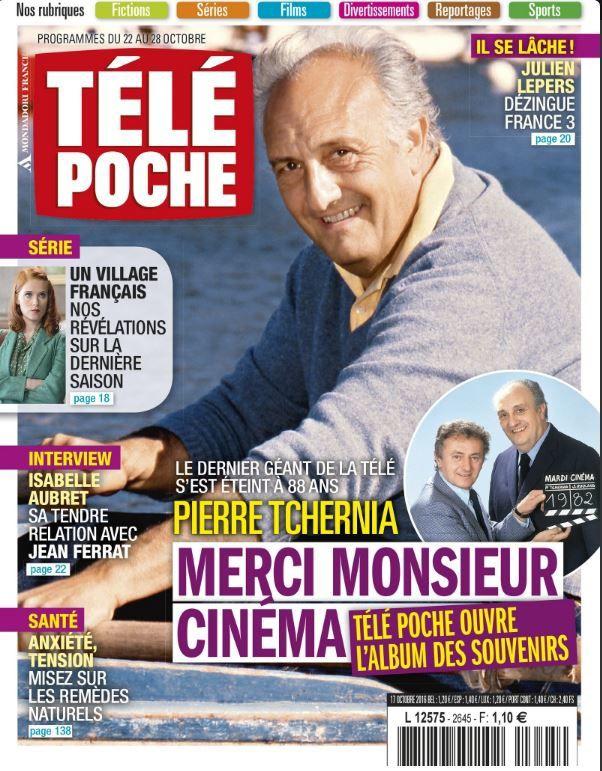 La Une des hebdos TV cette semaine : Tchernia, Davant, Ginola...