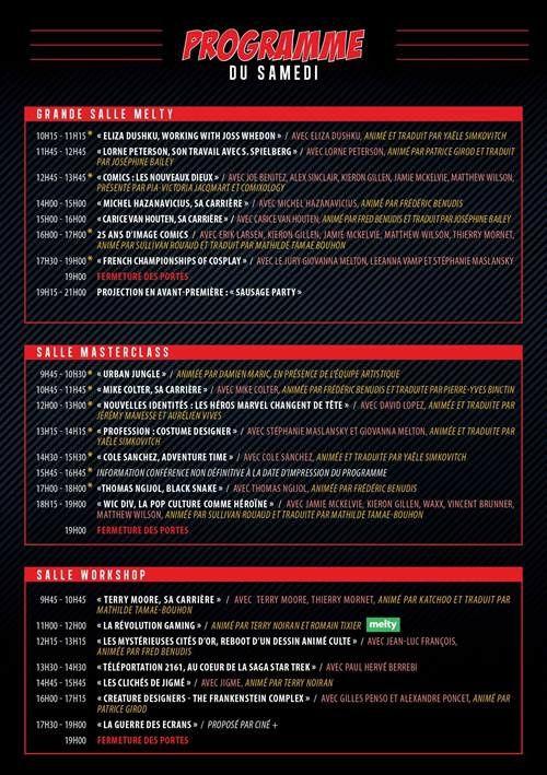 C'est parti pour le Comic Con Paris : le programme vendredi, samedi et dimanche.