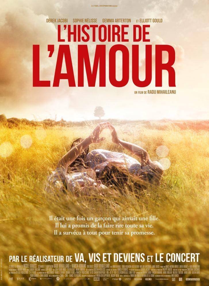 Deux nouveaux teasers du film L'histoire de l'amour, film de Radu Mihaileanu.