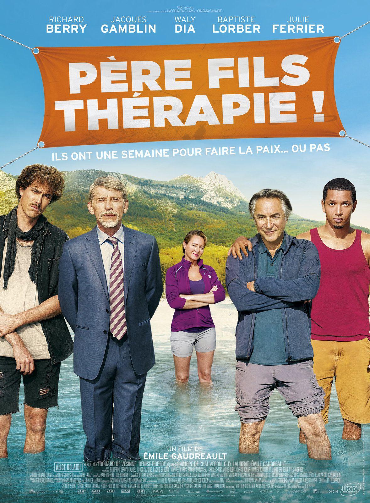 Bande-annonce de la comédie Père Fils Thérapie, avec Richard Berry et Waly Dia.