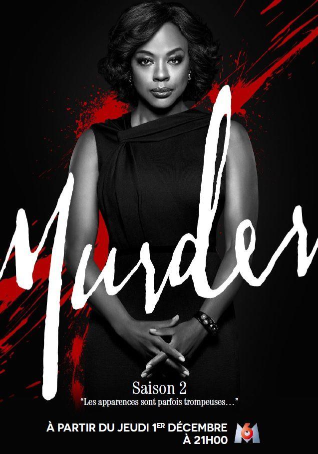 Murder saison 2 dès ce jeudi 1er décembre sur M6.