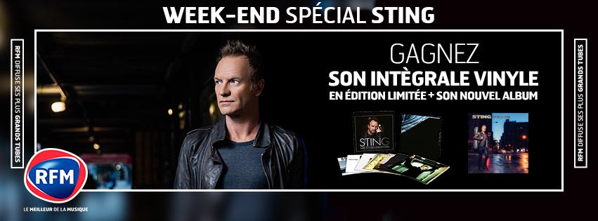 Interview et live acoustique de Sting vendredi sur RFM.