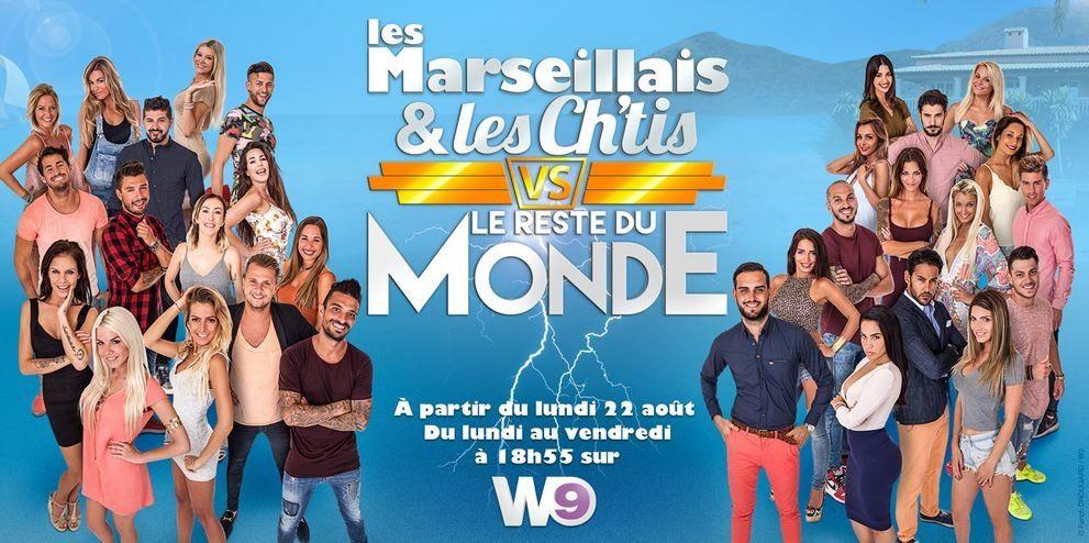 Bilan d'audience de la saison Les Marseillais et les Ch'tis sur W9.