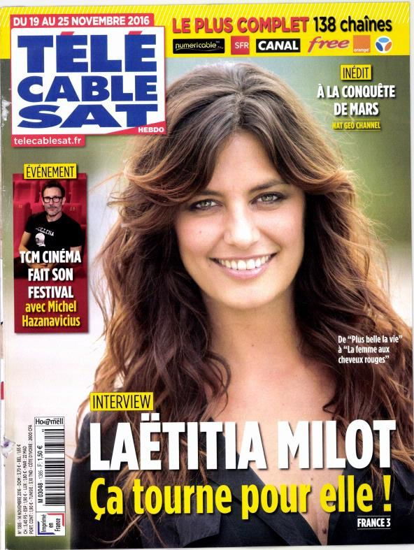 La Une des hebdos TV cette semaine : Isabelle Nanty, Laëtitia Milot, ADLP.