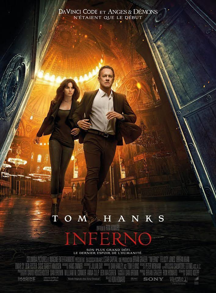 Box-office hebdomadaire : Inferno leader sans éclat, le Palmashow résiste bien.