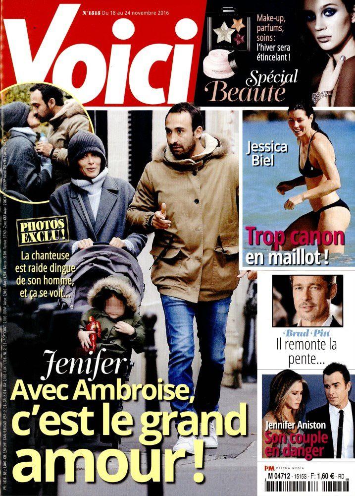 La Une de la presse people ce vendredi : Caroline Receveur, M. Pokora, Jenifer....