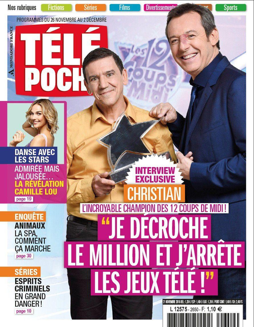 La Une des hebdos TV cette semaine : Laurence Boccolini, Louane, Les feux de l'amour.