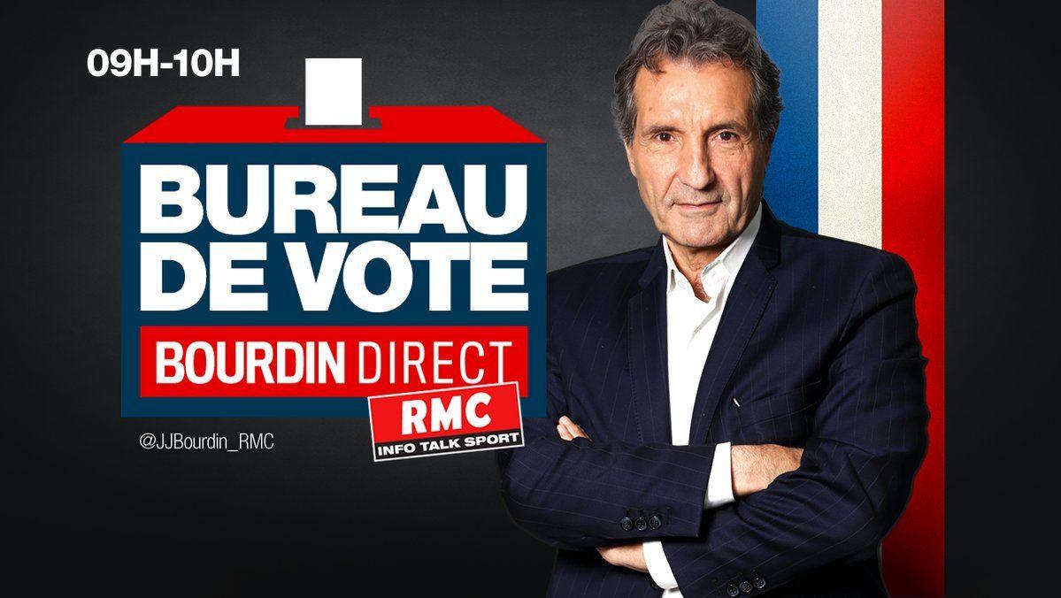 Bureau de vote, nouveau rendez-vous de Jean-Jacques Bourdin sur RMC.