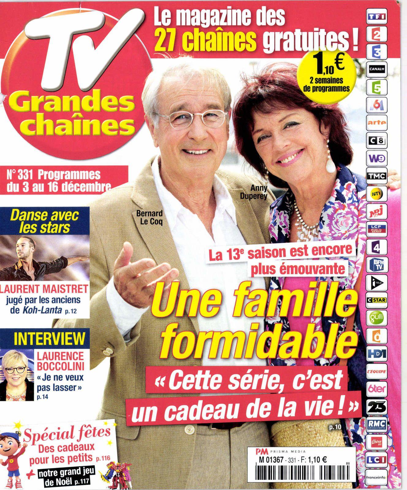 La Une des hebdos TV ce lundi : M. Pokora, Laurent Maistret, Jean-Jacques Goldman...