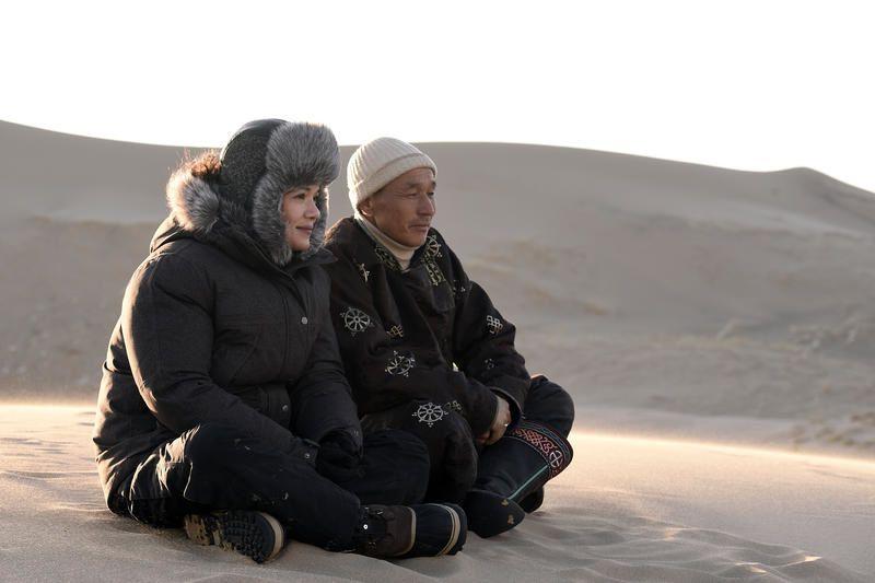 Terre inconnue avec Mélanie Doutey : &quot&#x3B;C'est un des films les plus puissants, les plus purs que nous ayons tourné&quot&#x3B;.