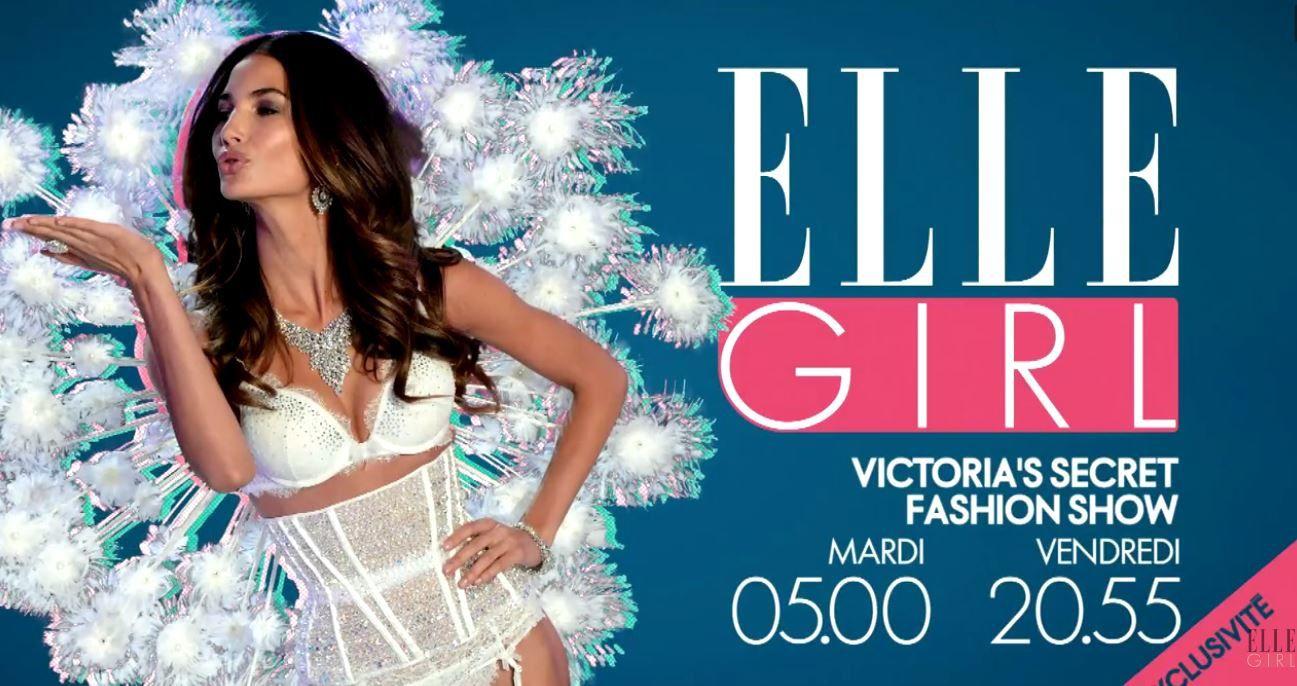 Le show Victoria's Secret en exclusivité TV cette nuit sur ELLE Girl (en simultané avec diffusion US).