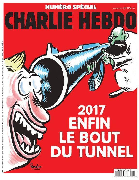 La Une du numéro spécial de Charlie Hebdo ce mercredi 4 janvier.
