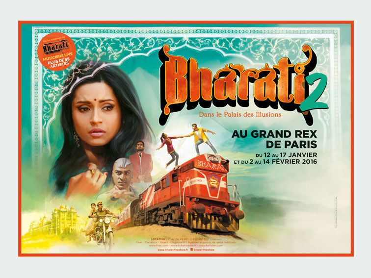 Le spectacle Bharati 2 diffusé en direct du Grand Rex ce