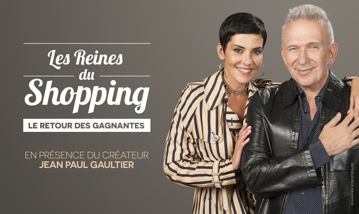 Semaine spéciale Les Reines du Shopping avec Jean-Paul Gaultier dès le 30 janvier.