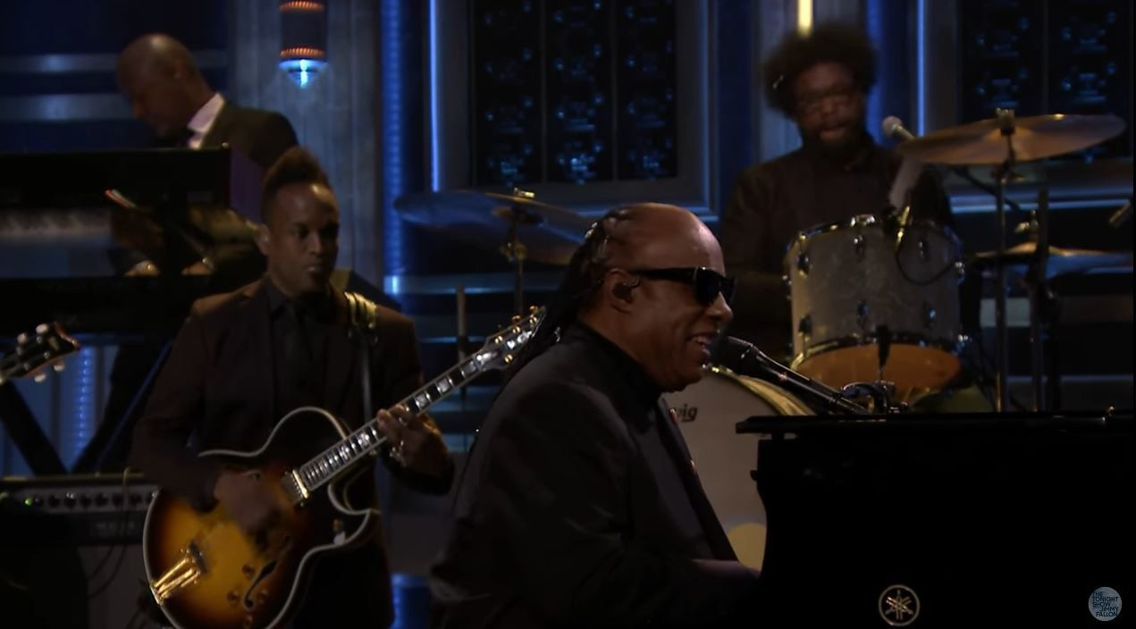 Stevie Wonder chante &quot&#x3B;Isn't She Lovely&quot&#x3B;/&quot&#x3B;My Cherie Amour&quot&#x3B; pour Michelle Obama (vidéo).