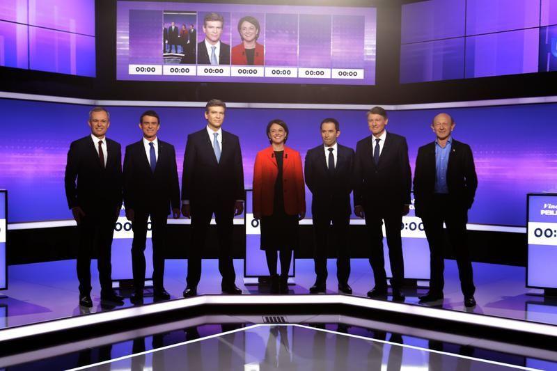 Résultats de la Primaire de Gauche ce dimanche : les invités de France 2 et France 3.