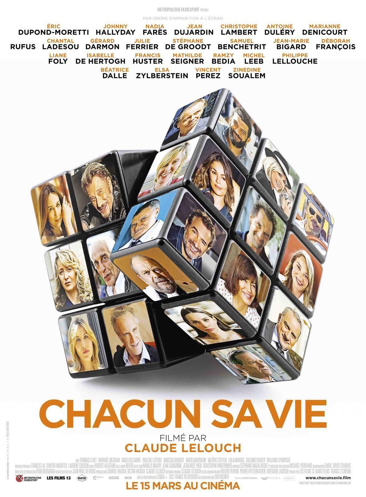 Making of du nouveau film de Claude Lelouch, Chacun sa vie.