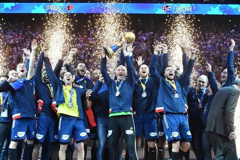 Pic d'audience à 12.3 millions pour le handball dimanche sur TF1.