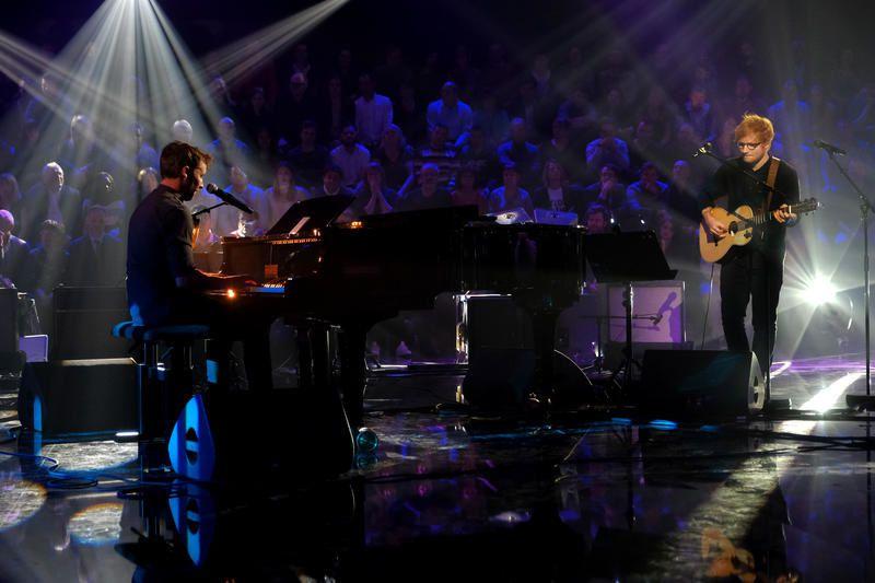Le live de Ed Sheeran et James Blunt dans Taratata (vidéo).