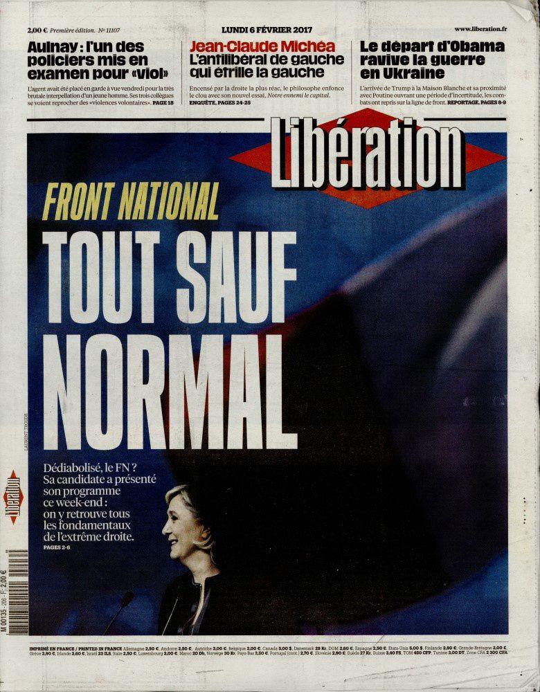 La une des quotidiens nationaux parus ce lundi 6 février.