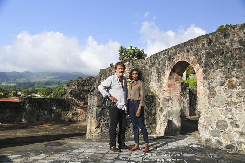 Meurtres en Martinique avec Sara Martins et Olivier Marchal ce samedi soir sur France 3.