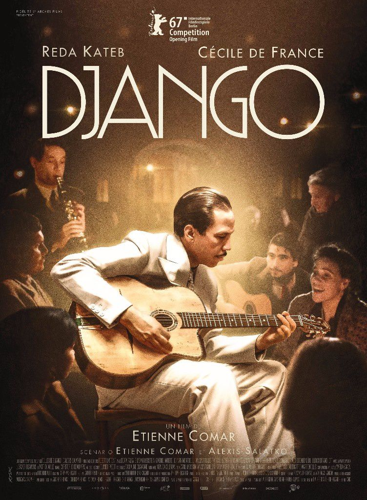 La bande-annonce de Django, film avec Reda Kateb et Cécile de France.