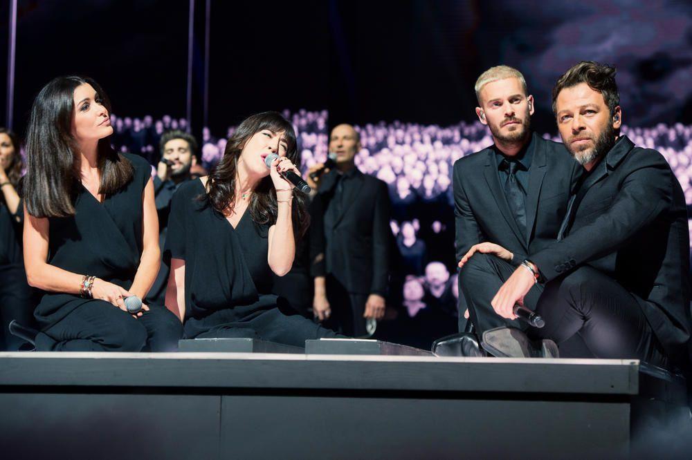 Le concert des Enfoirés sur TF1 : les artistes présents et les chansons interprétées.