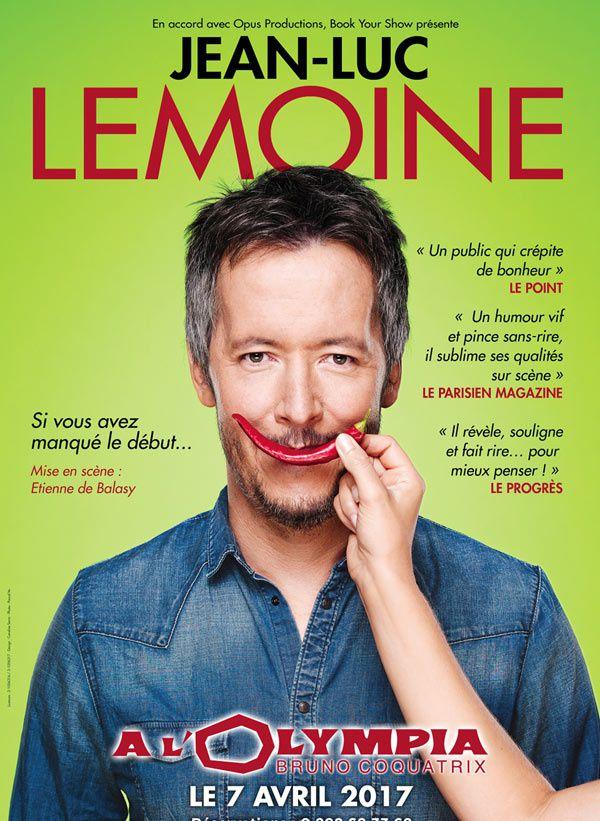 Jean-Luc Lemoine en direct de l'Olympia le 7 avril prochain sur C8.