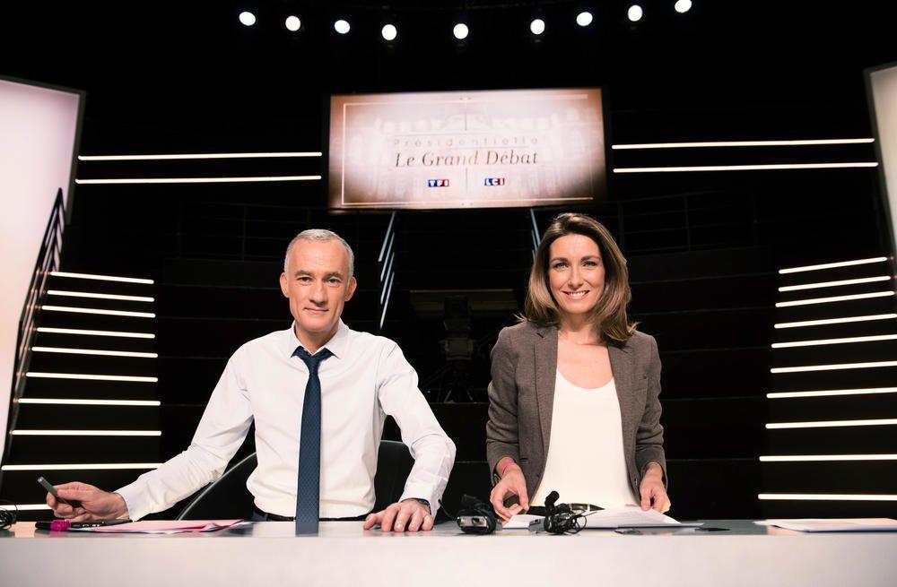 9.8 millions de téléspectateurs en moyenne devant le long &quot&#x3B;Grand débat&quot&#x3B; sur TF1.