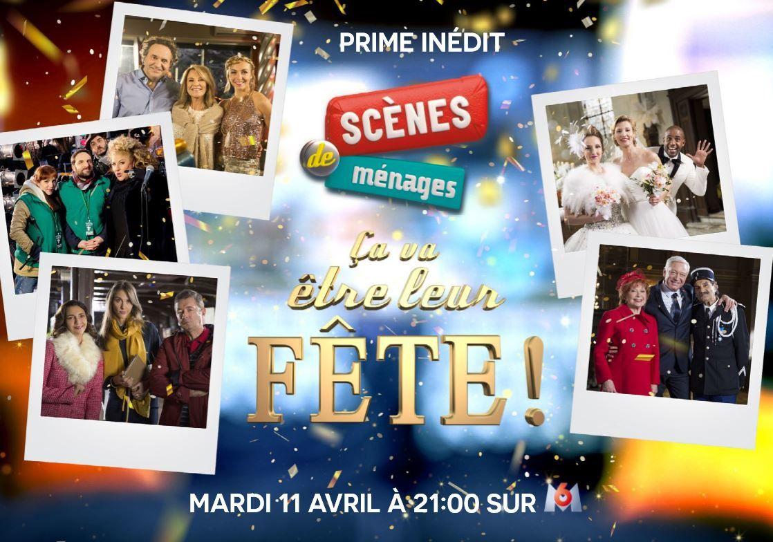 Scènes de ménages en Prime le 11 avril sur M6 : liste des guests.