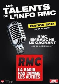 RMC lance une nouvelle édition des « Talents de l'Info ».