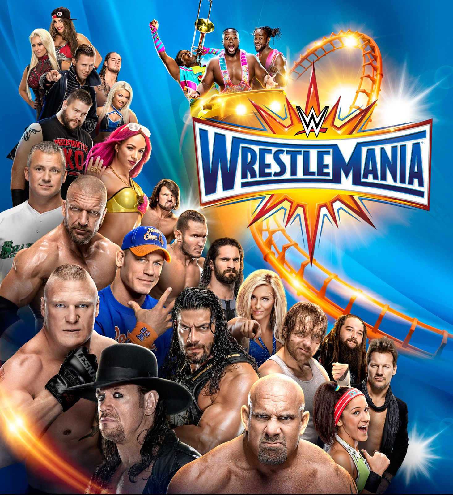 Wrestlemania en quasi direct cette nuit, avec Bill Goldberg, Brock Lesnar, The Undertaker.