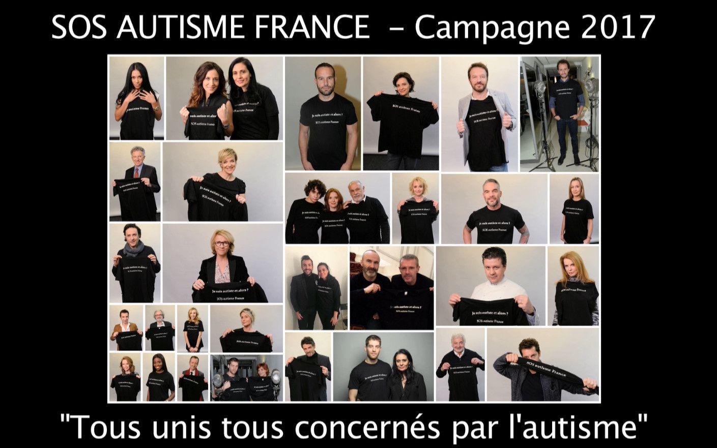Campagne de communication « Tous unis, tous concernés par l'autisme » (vidéo).